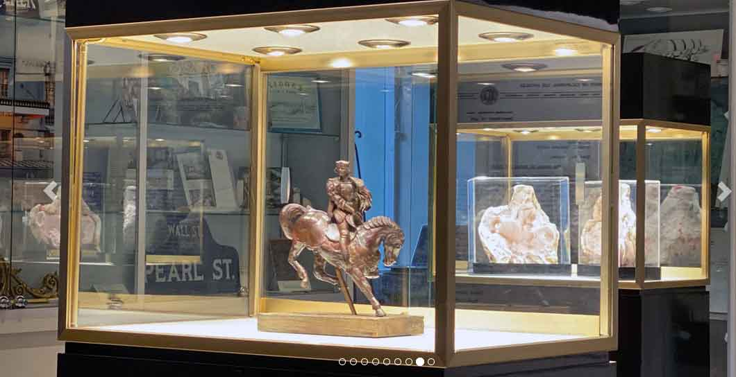 Leonardo Da Vincis Horse Rider to be at the The Pierre Hotel 2 East 61st Street Fifth Avenue New York NY 10065