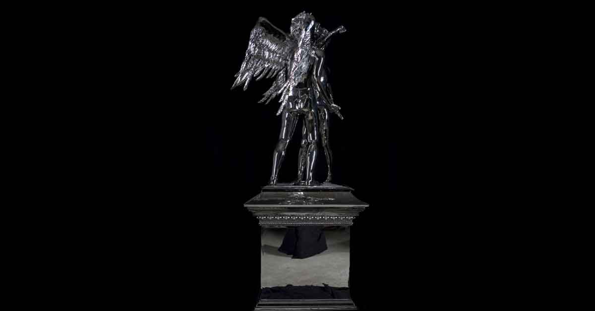 Anthony Micallef Chrome Sculpture