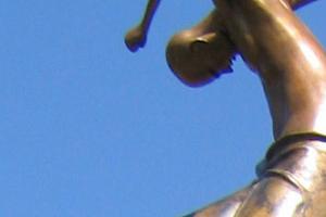 outdoor public bronze monumental sculpture