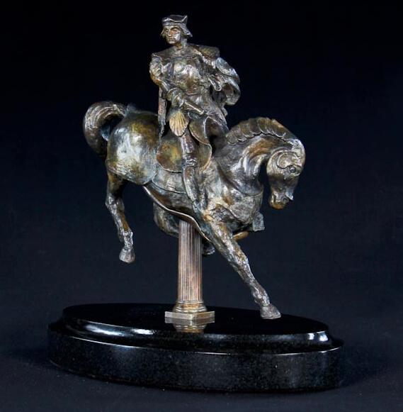 leonardo da vinci horse and rider