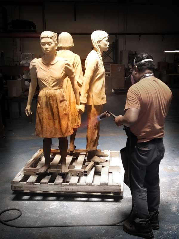American Fine Arts: Sculpture in the Patina Stage