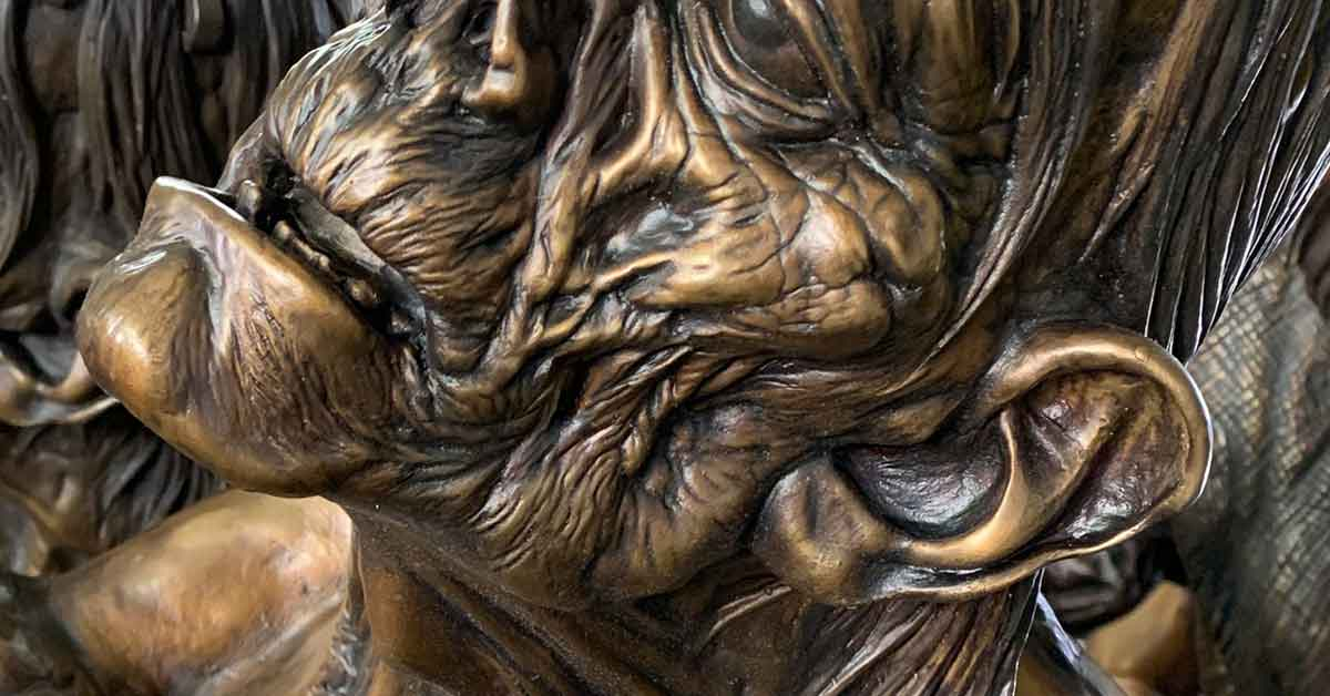 Bronze Sculptural Detail fro American Fine Arts