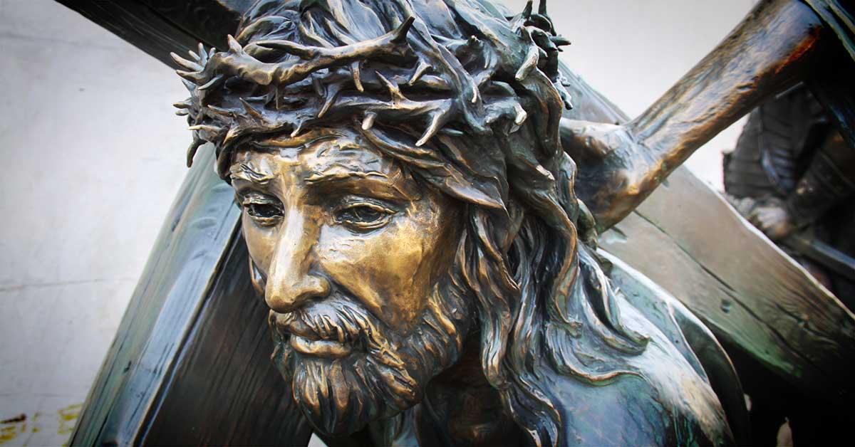 Jesus Christ Monumental Bronze Sculpture by American Fine Arts