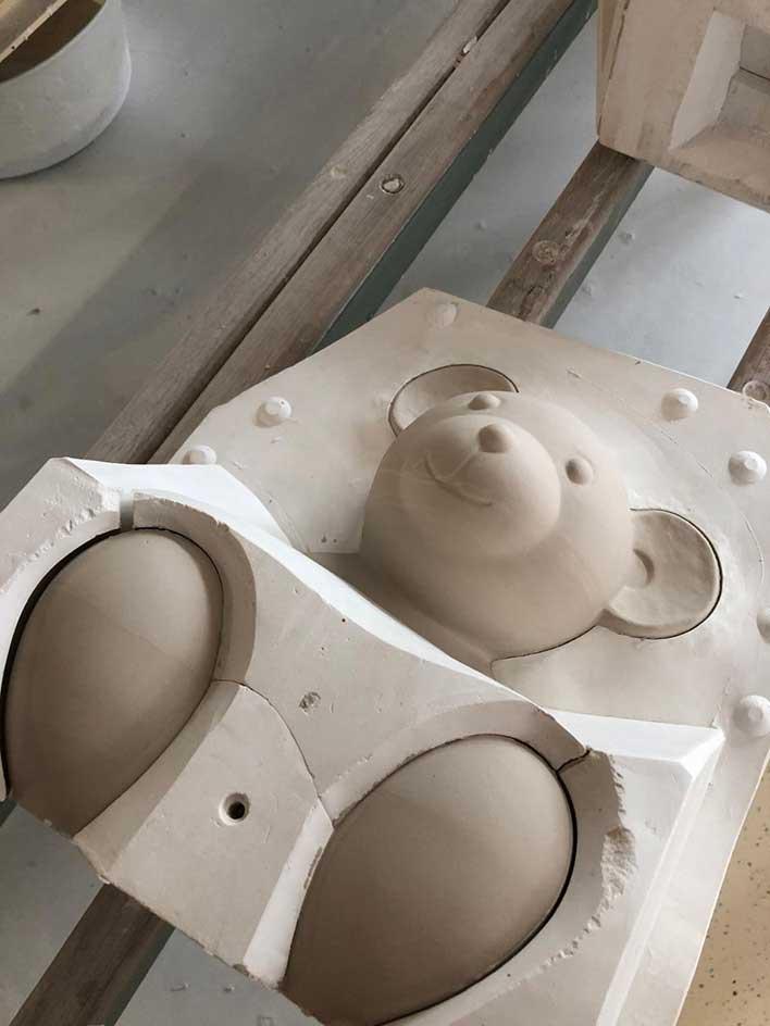 The mold for the Breuni Bear