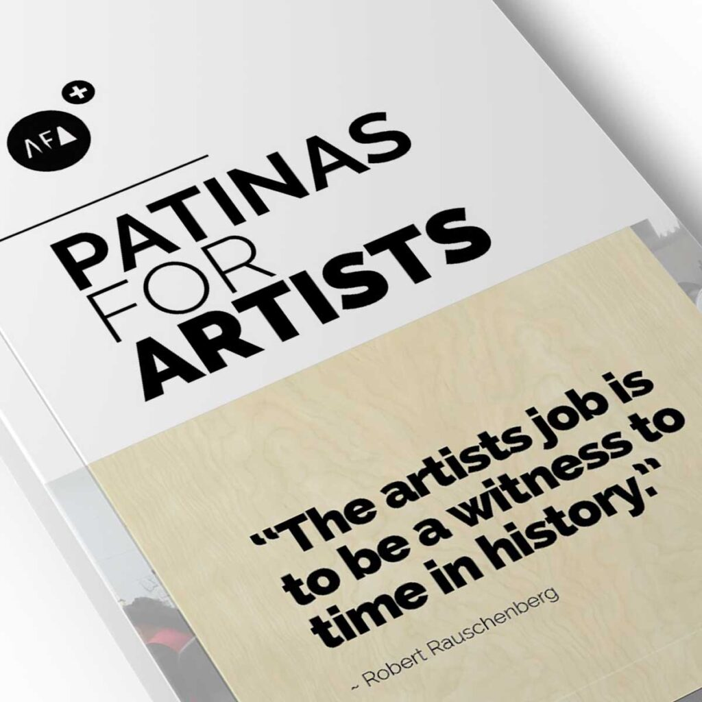 Patina's For Artists from American Fine Arts