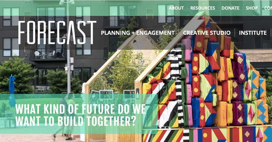 Forecast is a nonprofit organization that activates, inspires, and advocates for public art that advances justice, health, and human dignity.