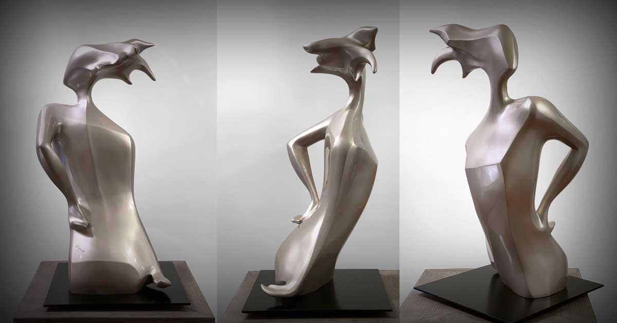 JD Hansen Latest Sculptural Works Fabricated by American Fine Arts