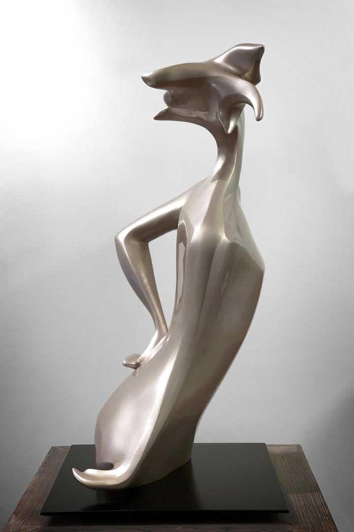 JD Hansen Sculpture by American Fine Arts