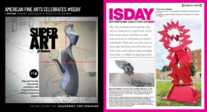 American Fine Arts Foundry and ISC and Sculpture magazine are preparing for the 7th annual International Sculpture Day on April 24th, 2021.
