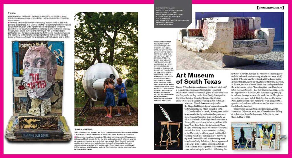 Sculpture magazine MarchApril21 ISDay Page 2