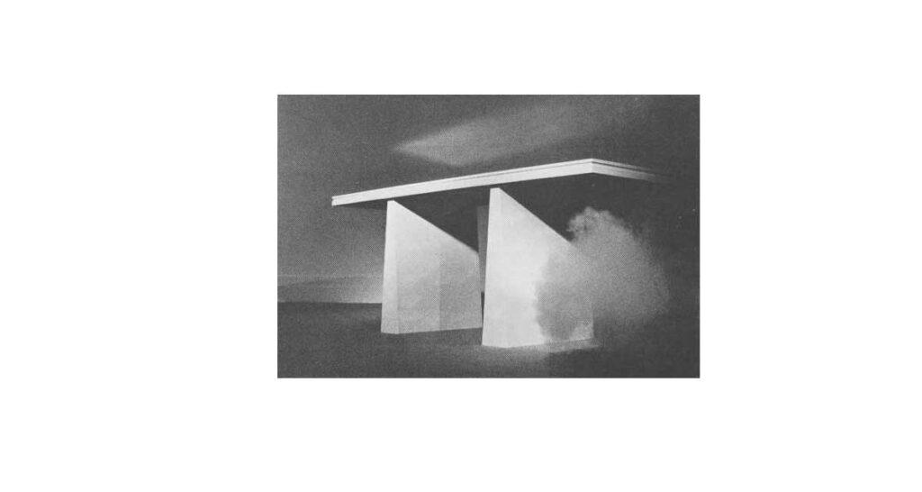 Michael Glock's Survival Furniture. Functional Art in Autumn 1982 in Art New Zealand.